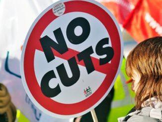 job-cuts,protest