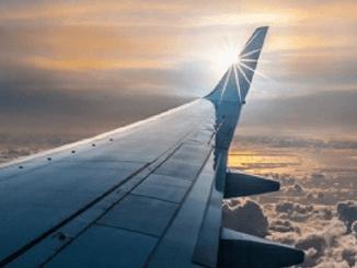 Aeroplane, flying high