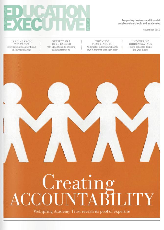 Education Executive Magazine Novemeber 2019
