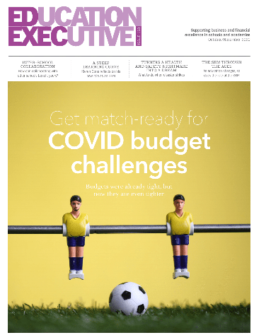 Education Executive Magazine Cover March 2020