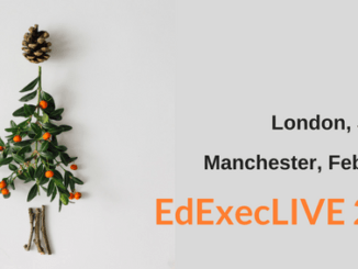 #EdExecLIVE: 'tis the season for school business management
