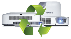 Going green with Casio: responsible disposal Edexec