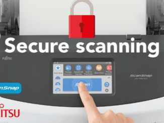 Secure scanning; ensuring efficient document management and data security