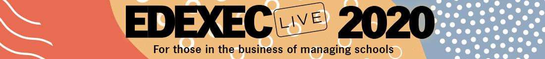 EdExec LIVE 2020 Header banner