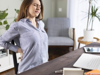 Avoiding back pain whilst working from home