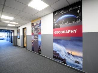 Academy enhances corridors with the help of Yeoman Shield