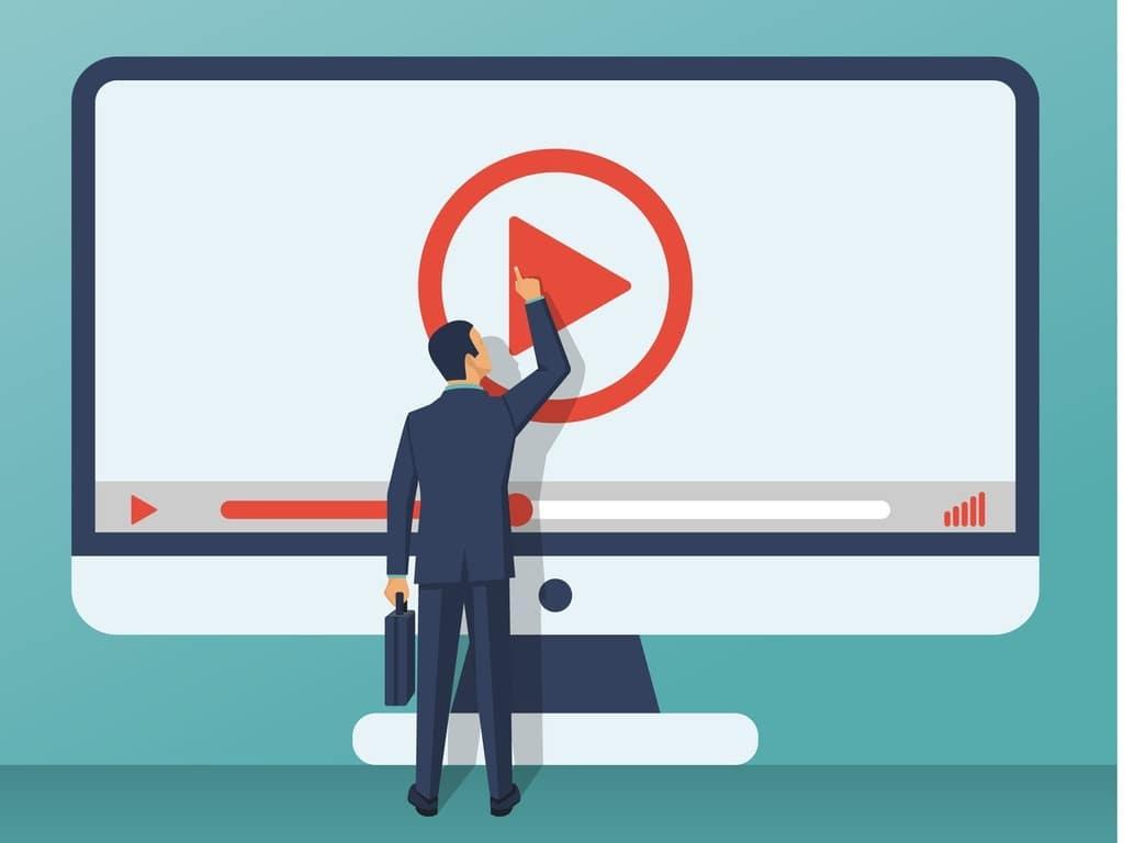 video-tutorial-concept-vector-id899153838