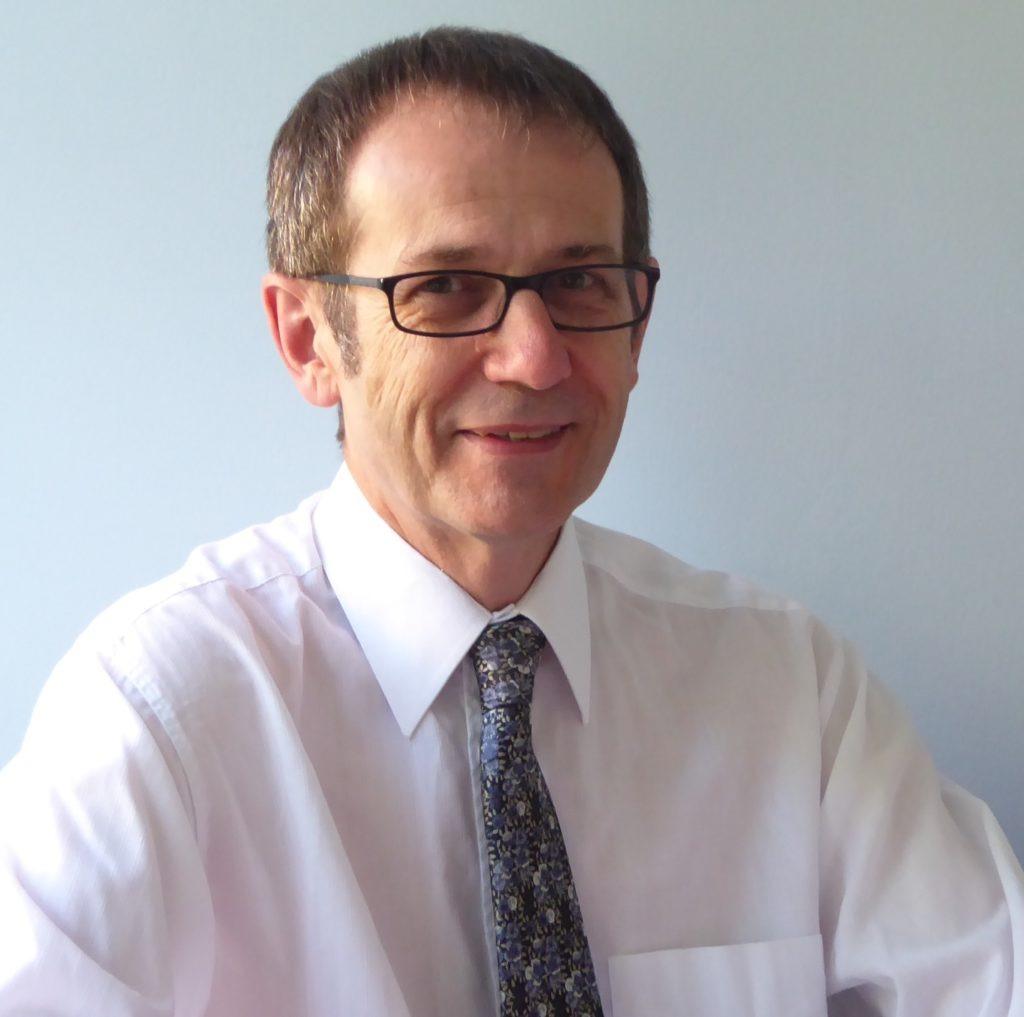 Photograph of Andrew Blench, EEL speaker