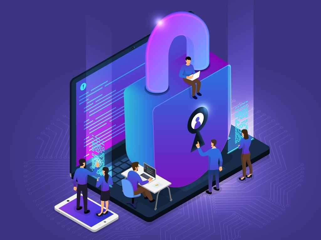 isometric-cyber-security-vector-id1035064274